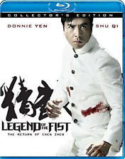 LEGEND OF THE FIST: THE RETURN OF CHEN ZHEN (Zhou Yang) - BLU RAY - Region Free