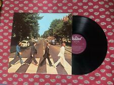 THE BEATLES LP Abbey Road CAPITOL purple label VG+
