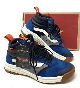 VANS UltraRange High Suede Di MTE Blue Men's Sneakers Boots VN0A4BU5TYH