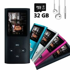 Wyne Technology 32GB MP3 MP4 Player with Assorted Micro SD Slot Fashion Durable