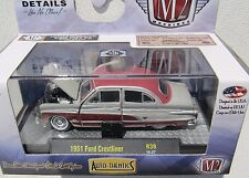M2 MACHINES AUTO-THENTICS R39 1951 FORD CRESTLINER 16-27 6,800 PIECES WORLD WIDE