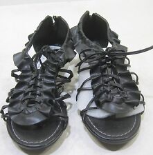 "Summer New black 1.5""wedge heel   WOMEN SHOES  SANDALS  SIZE  6"