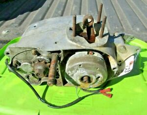 Montesa Cappra 250 V75 Engine Lowend Motor Cases w/ Crank & Gears 73M7793 1975