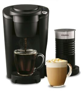 Keurig K-Latte Single Serve K-Cup Coffee and Latte Maker, Black