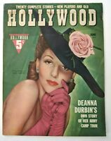 Hollywood Magazine June 1942 Mary Martin, Deanna Durbin