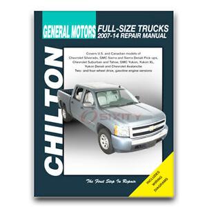 Chilton Repair Manual for 2007-2014 Chevrolet Silverado 3500 HD - Shop xv