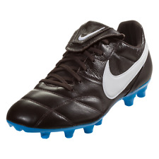 Nike Premier II FG Mens Soccer Cleats Velvet Brown White Blue Leather 917803-214
