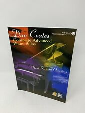 The Professional Touch: Dan Coates Complete Advanced Piano Solos (Paperback 1999
