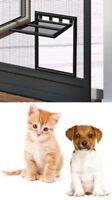Katzen-Klappe für Fliegengitter Insektenschutz-Türen Katzentür Hunde Katze Cat