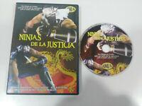 Ninjas de la Justicia Kung Fu Romano Kristoff Gwendolyn Hung Dvd Español