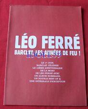 Léo Ferré, Barclay les années de feu  plan media