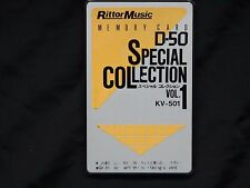 Roland D-50/D-550 Rittor Music Special Collection Vol-1 ---WORLDWIDE SHPPING!