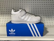 Adidas Originals Pro Shell Mens Athletic Basketball Shoes Size 8.5 Silver White