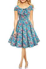 Knee Length Formal Floral Dresses for Women