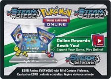 Pokemon TCG XY STEAM SIEGE : VIRTUAL CODE CARD X 50