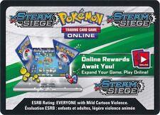 Pokemon TCG XY STEAM SIEGE : VIRTUAL CODE CARD X 100