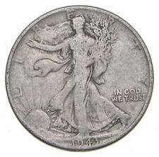 1943 Walking Liberty 90% Silver US Half Dollar *192