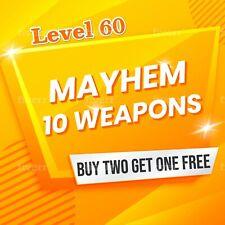 Xbox One Borderlands 3 (Mayhem 10-Level 60) Weapons Buy 2 Get One FREE BL3 Guns