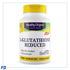 Healthy Origins Setria L-glutathione REDUCED 500mg 60 Veggie Caps