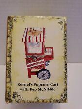 C - Boyds Bears Kernel's Popcorn Cart with Pop McNibble Treasure Box #392177