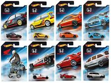 Hot Wheels 1:64 Honda 70th Anniversary CR-X Civic S2000 Set 8 Diecast Cars FKD22