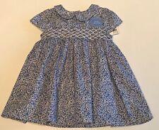 NEXT BABY GIRLS DRESS BLUE&WHITE 3-6 MONTHS BNWT