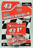 Darrell Wallace Jr. DOORDASH  NASCAR Authentics Darlington 2020 Wave 9 1:64 NEW