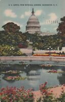 *(M)  Washington, DC - View of the Capitol Building from Botanical Gardens