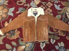 CRIPPLE CREEK Jacket Women Small Suede Leather Western Vintage EUC