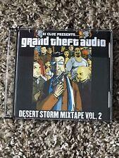 DJ CLUE GRAND THEFT AUDIO 1 DESERT STORM Classic NYC Mixtape CD Fabolous Nas