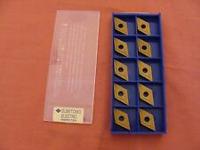 NEW OLD STOCK SUMITOMO CARBIDE INSERTS SEGN 120304 H1 SEGN 421 LOT OF 10!
