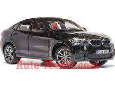 1:18 Norev 2015 BMW X6 M Long Beach Matte Black Dealer Edition