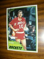 1981-82 Topps Mid West #85  Mike Dunleavy Houston Rockets Rookie  NrMt