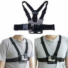 Chest Body Strap Mount Harness Adjustable Belt For Gopro Hero Series SJCAM