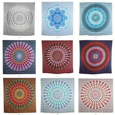 Mandala Tapestry Indian Wall Hanging Decor Bohemian Hippie Bedspread Throw