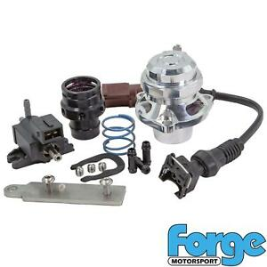 Silver - Forge Dump Valve Blow Off Kit for Golf mk5 GTI mk6 R 2.0 TFSI K03 K04