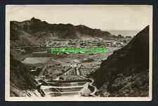 ADEN  Yemen CRATER Steamer Point RP PHOTO POSTCARD Pallonjee Dinshaw MIDDLE EAST