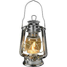 Hurricane Paraffin Lamp Lantern Storm Camping Oil Light Supalite Metal