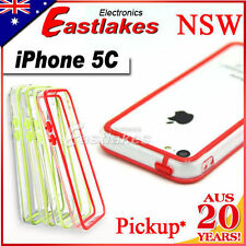 Unbranded/Generic Silicone/Gel/Rubber Mobile Phone Bumpers for iPhone 5c