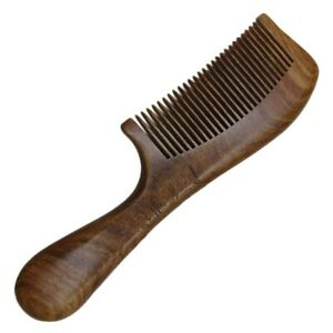 Woman for Wooden Comb Massage Comb Round Handle Simple Small 1pcs