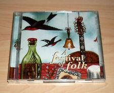 CD Album Sampler - A Festival of Folk : 40 Contemporary Folk Music Classics