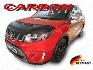 CARBON LOOK BONNET BRA Suzuki Vitara Escudo LY mk4 2015- STONEGUARD PROTECTOR