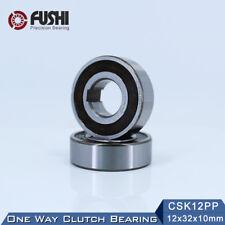 CSK12PP One Way Bearing 12*32*10mm (1PC) With Keyway FreeWheel Clutch bearing