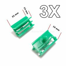 3x for BMW Plastic Trim Clip Fastener for Side Skirt Sill Moulding 51717066223