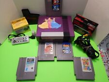 NES Nintendo System + 2 Controller + 5 Games Mario Brothers