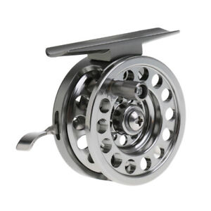 Ice Fishing Reel Trout Fly Reels Round Portable Smooth Winter Fishing Tackle