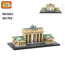 LOZ Architecture 1011 Brandenburg Gate DIY Mini Nano Blocks Diamond Building Toy