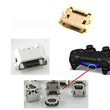 2 x  USB CHARGING CONNECTOR PORT FOR PS4 CONTROLLER REPAIR PART