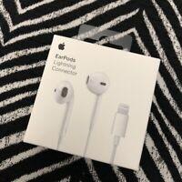 Genuine Apple EarPods Lightning Connector Earphones Headphones For iPhone 7 8 X