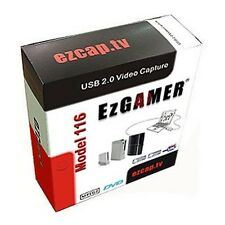 EZCAP.TV 116 EzGAMER USB 2.0 Game Capture Device. Windows + MAC
